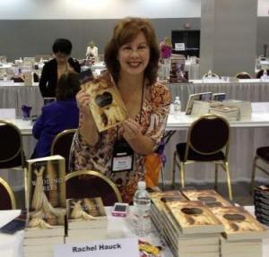 Rachel Hauck with The Wedding Dress book